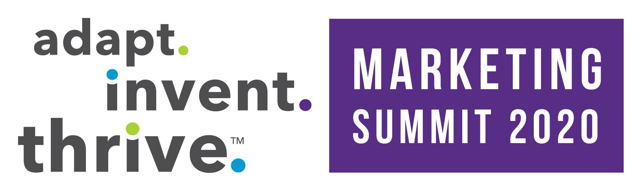 adapt invent thrive marketing summit  2020